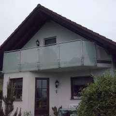 Balkonverglasung